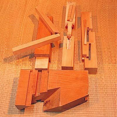 Charpente traditionnelle - Assemblage bois japonais ...