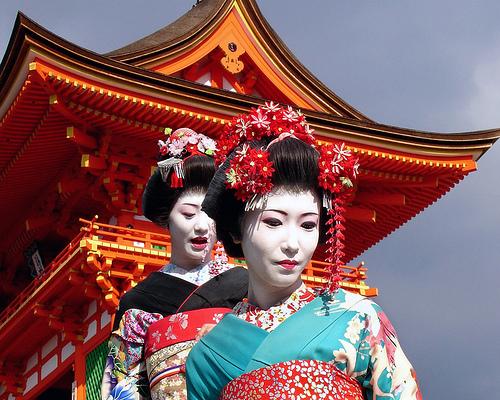 Coiffure traditionnelle japonaise femme sararachelbesy site for Salon japonais traditionnel