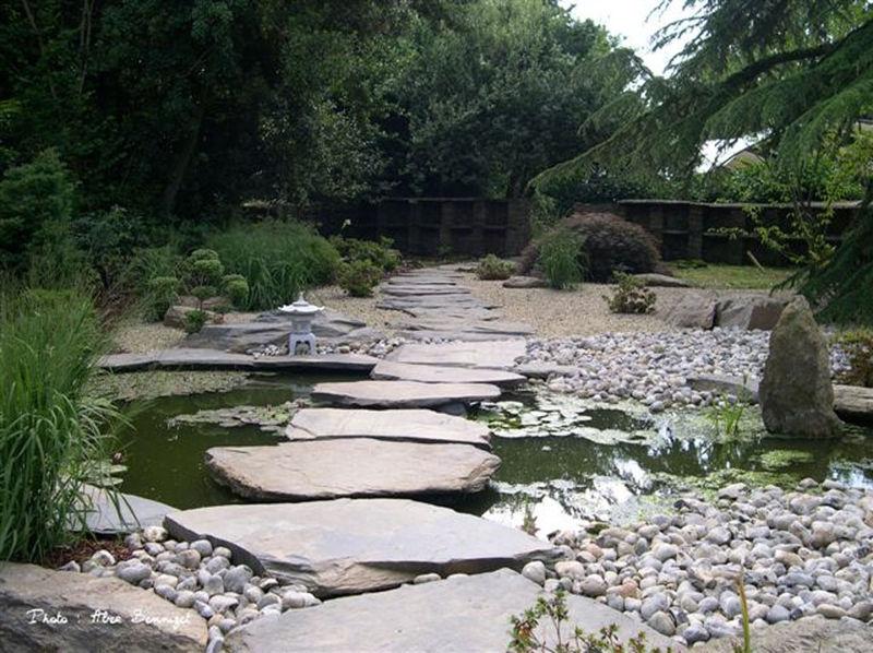 Jardins d 39 inspiration japonaise for Plan jardin japonais