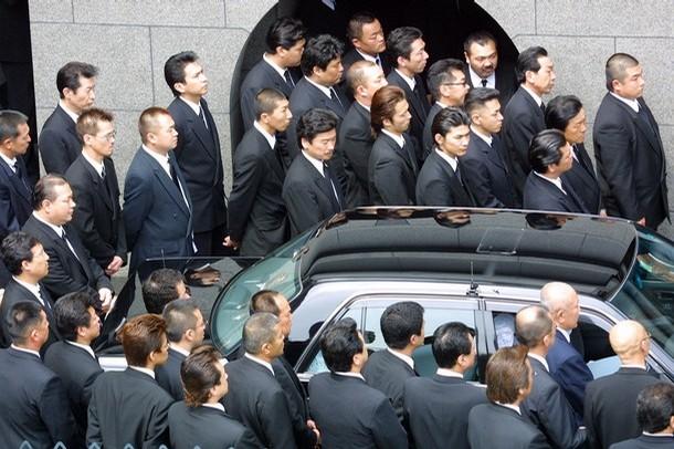 Les membres du clan yakuza  quot Yamaguchi-gumi quot Yakuza